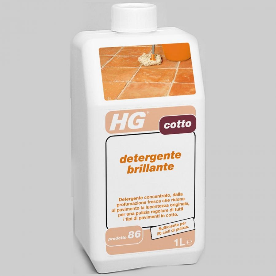 Detergente Per Cotto Esterno detergente brillante per cotto
